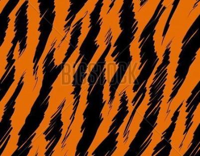 Tiger Print Print Roller Blinds Luxury Blinds Direct