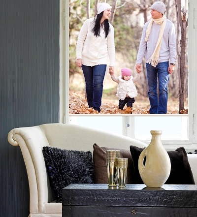 Family photo blind